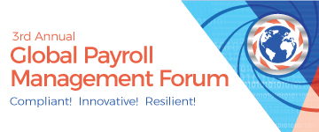 Global Payroll Management Forum graphic