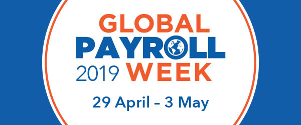 global payroll week logo